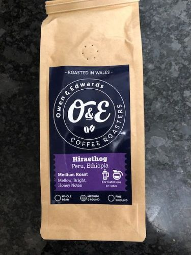 Owen and Edwards Ground Coffee - Hiraethog (Medium Roast)
